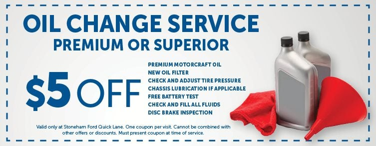 Ford Oil Change Coupon >> Ford Quick Lane Specials Oil Change Tires Batteries In